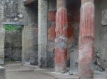 Columns in Balbus's atrium