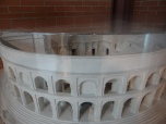 Model of the theater